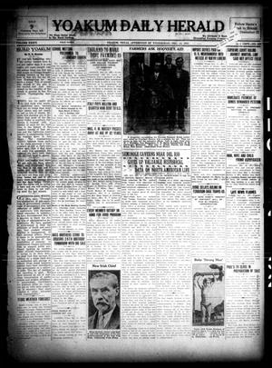 Primary view of object titled 'Yoakum Daily Herald (Yoakum, Tex.), Vol. 36, No. 215, Ed. 1 Wednesday, December 14, 1932'.