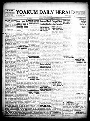 Primary view of object titled 'Yoakum Daily Herald (Yoakum, Tex.), Vol. 33, No. 287, Ed. 1 Sunday, March 9, 1930'.