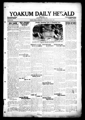 Primary view of object titled 'Yoakum Daily Herald (Yoakum, Tex.), Vol. 29, No. 77, Ed. 1 Wednesday, July 1, 1925'.