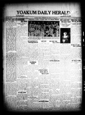 Primary view of object titled 'Yoakum Daily Herald (Yoakum, Tex.), Vol. 36, No. [194], Ed. 1 Friday, November 18, 1932'.