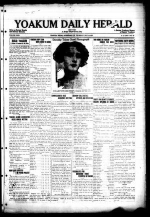 Primary view of object titled 'Yoakum Daily Herald (Yoakum, Tex.), Vol. 29, No. 50, Ed. 1 Thursday, May 28, 1925'.