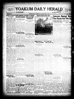 Primary view of object titled 'Yoakum Daily Herald (Yoakum, Tex.), Vol. 35, No. [204], Ed. 1 Tuesday, December 1, 1931'.