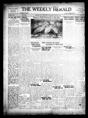Primary view of object titled 'The Weekly Herald (Yoakum, Tex.), Vol. 34, No. [52], Ed. 1 Thursday, March 26, 1931'.