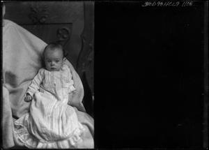 Primary view of object titled '[Portrait of Baby]'.