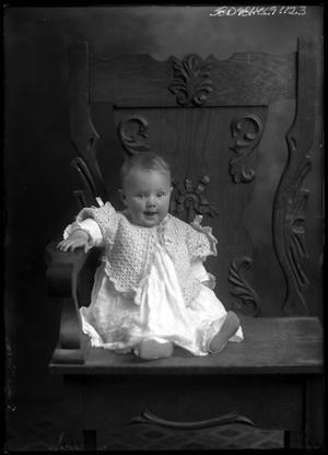 Primary view of object titled '[Portrait of Baby in Sweater]'.