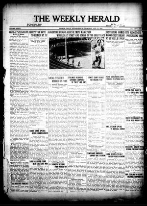 Primary view of object titled 'The Weekly Herald (Yoakum, Tex.), Vol. 36, No. [20], Ed. 1 Thursday, August 11, 1932'.