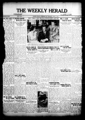 Primary view of object titled 'The Weekly Herald (Yoakum, Tex.), Vol. 36, No. [24], Ed. 1 Thursday, September 8, 1932'.