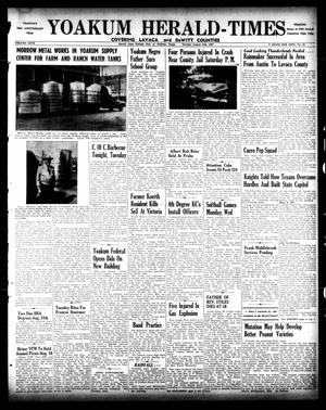 Primary view of object titled 'Yoakum Herald-Times (Yoakum, Tex.), Vol. 67, No. 65, Ed. 1 Tuesday, August 13, 1963'.