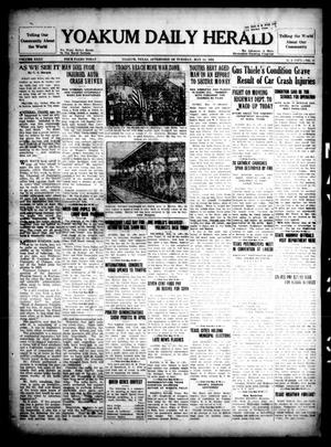Primary view of object titled 'Yoakum Daily Herald (Yoakum, Tex.), Vol. 35, No. 35, Ed. 1 Tuesday, May 12, 1931'.