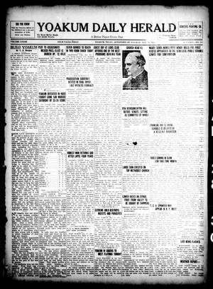 Primary view of object titled 'Yoakum Daily Herald (Yoakum, Tex.), Vol. 33, No. 253, Ed. 1 Tuesday, January 28, 1930'.