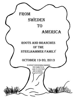 Primary view of object titled 'From Sweden to America'.