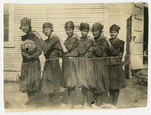 [Photograph of the Hanson Sisters]