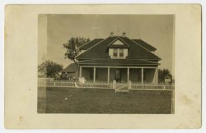 [Photograph of Helge Family Home]