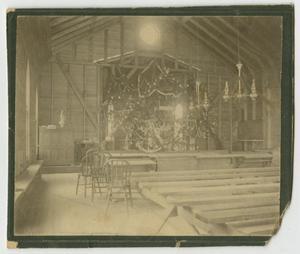 [Photograph of Church Interior]