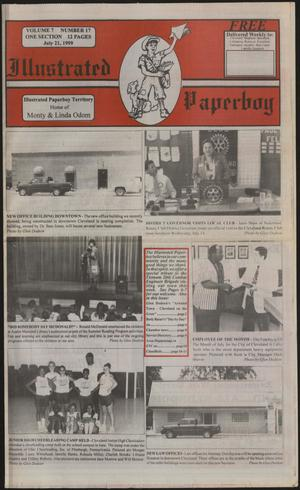 Primary view of Illustrated Paperboy (Cleveland, Tex.), Vol. 7, No. 17, Ed. 1 Wednesday, July 21, 1999