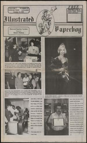 Primary view of object titled 'Illustrated Paperboy (Cleveland, Tex.), Vol. 7, No. 29, Ed. 1 Wednesday, October 13, 1999'.