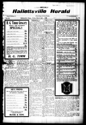 Semi-weekly Hallettsville Herald (Hallettsville, Tex.), Vol. 55, No. 70, Ed. 1 Friday, March 2, 1928