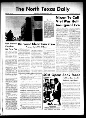 Primary view of object titled 'The North Texas Daily (Denton, Tex.), Vol. 56, No. 54, Ed. 1 Wednesday, January 17, 1973'.