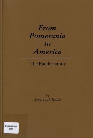 From Pomerania to America
