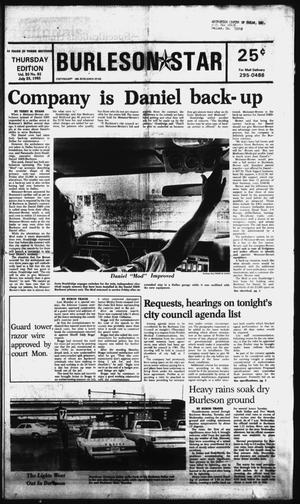 Primary view of Burleson Star (Burleson, Tex.), Vol. 20, No. 82, Ed. 1 Thursday, July 25, 1985