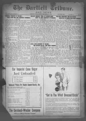 Primary view of object titled 'The Bartlett Tribune and News (Bartlett, Tex.), Vol. 40, No. 8, Ed. 1, Friday, September 25, 1925'.