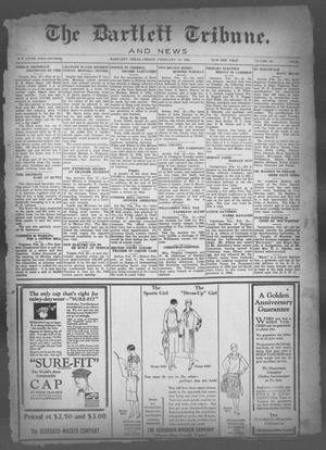 The Bartlett Tribune and News (Bartlett, Tex.), Vol. 40, No. 28, Ed. 1, Friday, February 19, 1926