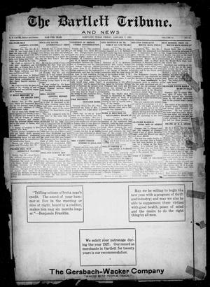 Primary view of object titled 'The Bartlett Tribune and News (Bartlett, Tex.), Vol. 41, No. 17, Ed. 1, Friday, January 7, 1927'.