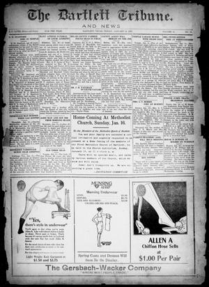 Primary view of object titled 'The Bartlett Tribune and News (Bartlett, Tex.), Vol. 41, No. 18, Ed. 1, Friday, January 14, 1927'.