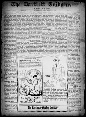 The Bartlett Tribune and News (Bartlett, Tex.), Vol. 41, No. 23, Ed. 1, Friday, February 18, 1927