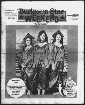Primary view of object titled 'Burleson Star (Burleson, Tex.), Vol. 25, No. 99, Ed. 1 Friday, June 1, 1990'.