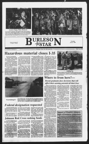 Primary view of object titled 'Burleson Star (Burleson, Tex.), Vol. 29, No. 67, Ed. 1 Thursday, June 2, 1994'.