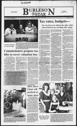 Primary view of object titled 'Burleson Star (Burleson, Tex.), Vol. 26, No. 111, Ed. 1 Thursday, August 29, 1991'.