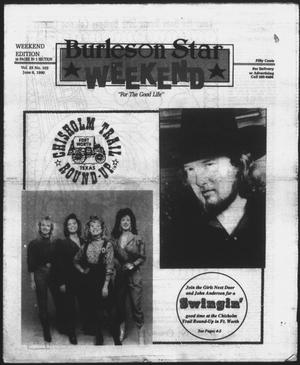 Primary view of object titled 'Burleson Star (Burleson, Tex.), Vol. 25, No. 102, Ed. 1 Friday, June 8, 1990'.