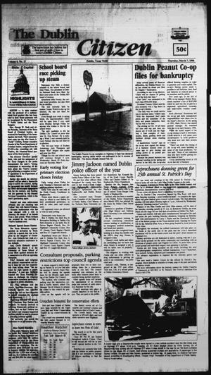 Primary view of The Dublin Citizen (Dublin, Tex.), Vol. 6, No. 27, Ed. 1 Thursday, March 7, 1996