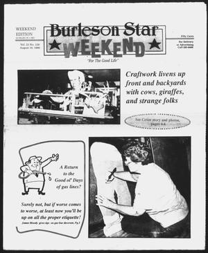 Primary view of object titled 'Burleson Star (Burleson, Tex.), Vol. 25, No. 129, Ed. 1 Friday, August 10, 1990'.