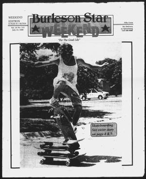Primary view of object titled 'Burleson Star (Burleson, Tex.), Vol. 25, No. 115, Ed. 1 Friday, July 13, 1990'.