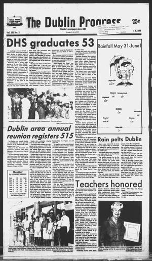 Primary view of object titled 'The Dublin Progress (Dublin, Tex.), Vol. 101, No. 3, Ed. 1 Wednesday, June 8, 1988'.