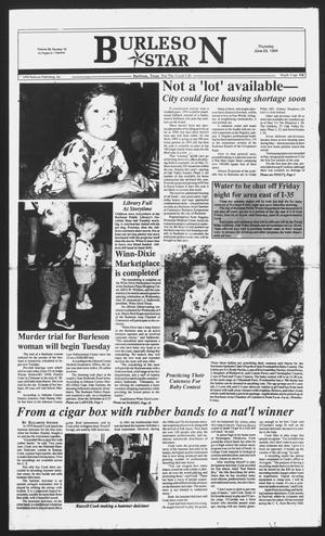 Primary view of object titled 'Burleson Star (Burleson, Tex.), Vol. 29, No. 73, Ed. 1 Thursday, June 23, 1994'.