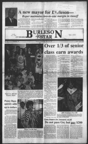 Primary view of object titled 'Burleson Star (Burleson, Tex.), Vol. 27, No. 65, Ed. 1 Monday, June 1, 1992'.