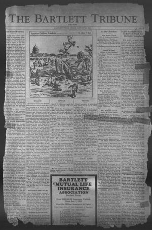 Primary view of object titled 'The Bartlett Tribune and News (Bartlett, Tex.), Vol. 46, No. 22, Ed. 1, Friday, January 20, 1933'.