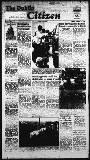 Primary view of object titled 'The Dublin Citizen (Dublin, Tex.), Vol. 7, No. 4, Ed. 1 Thursday, September 19, 1996'.