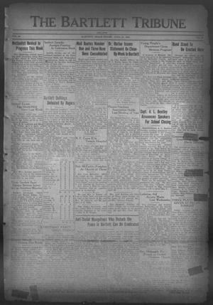 Primary view of object titled 'The Bartlett Tribune and News (Bartlett, Tex.), Vol. 46, No. 35, Ed. 1, Friday, April 21, 1933'.