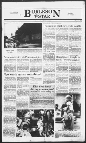 Primary view of object titled 'Burleson Star (Burleson, Tex.), Vol. 29, No. 79, Ed. 1 Thursday, July 14, 1994'.