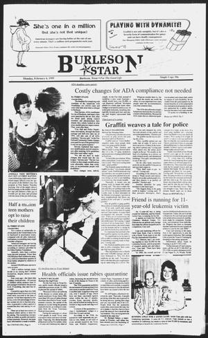 Primary view of object titled 'Burleson Star (Burleson, Tex.), Vol. 30, No. 34, Ed. 1 Monday, February 6, 1995'.