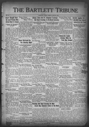Primary view of object titled 'The Bartlett Tribune and News (Bartlett, Tex.), Vol. 46, No. 43, Ed. 1, Friday, June 23, 1933'.