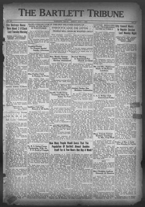 Primary view of object titled 'The Bartlett Tribune and News (Bartlett, Tex.), Vol. 46, No. 45, Ed. 1, Friday, July 7, 1933'.
