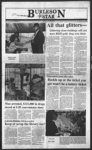 Primary view of object titled 'Burleson Star (Burleson, Tex.), Vol. 27, No. 67, Ed. 1 Monday, June 8, 1992'.