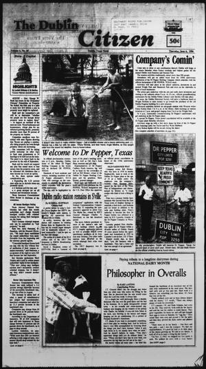 Primary view of The Dublin Citizen (Dublin, Tex.), Vol. 6, No. 40, Ed. 1 Thursday, June 6, 1996