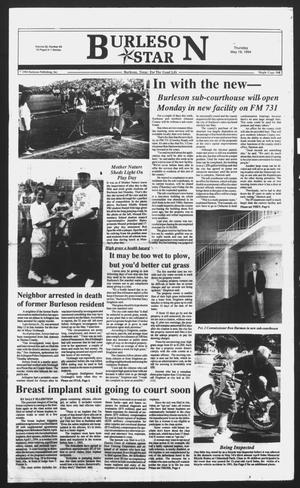 Primary view of object titled 'Burleson Star (Burleson, Tex.), Vol. 29, No. 63, Ed. 1 Thursday, May 19, 1994'.