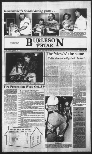 Primary view of object titled 'Burleson Star (Burleson, Tex.), Vol. 28, No. 102, Ed. 1 Monday, October 4, 1993'.